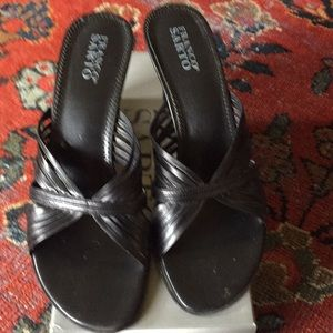 Franco Sarto Carrera wedge sandal